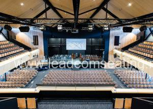 leadcom seating auditorium seating installation Christchurch Boys High School 2