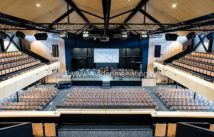 leadcom seating auditorium seating installation Christchurch Boys High School 2