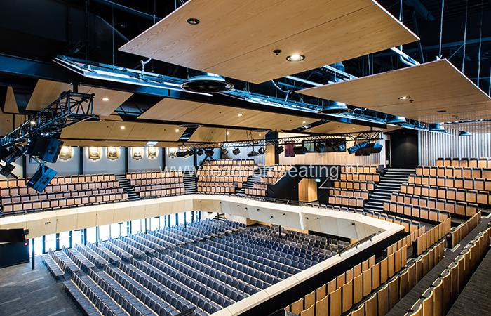 leadcom seating auditorium seating installation Christchurch Boys High School