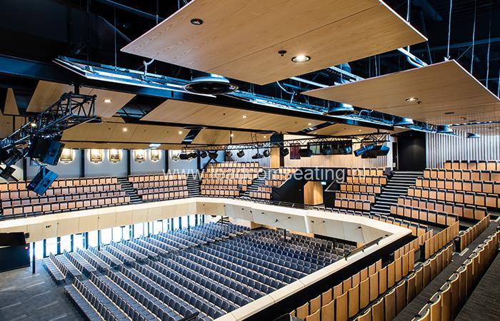 leadcom seating auditorium seating installation Christchurch Boys High School