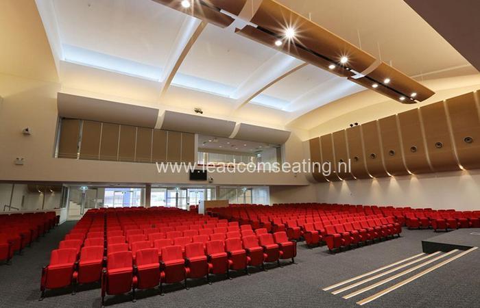 leadcom seating auditorium seating installation Emmanuel Baptist Church 2