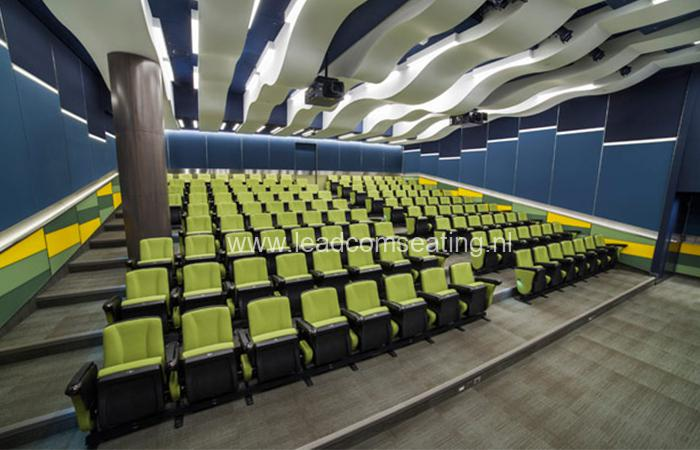 leadcom seating auditorium seating installation Farm Credit Canada 1