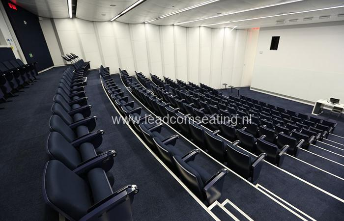 leadcom seating auditorium seating installation Glendon Canada 2