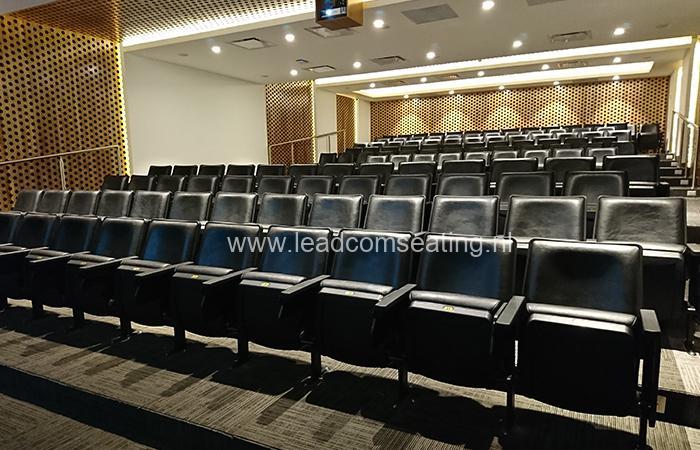 leadcom seating auditorium seating installation Guatemala's Tourism Authorities