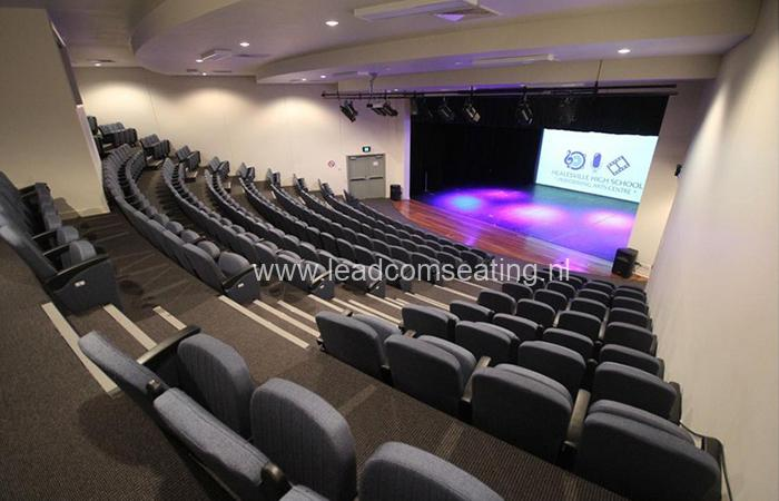 leadcom seating auditorium seating installation HEALESVILLE HIGH SCHOOL 600Nos 6618