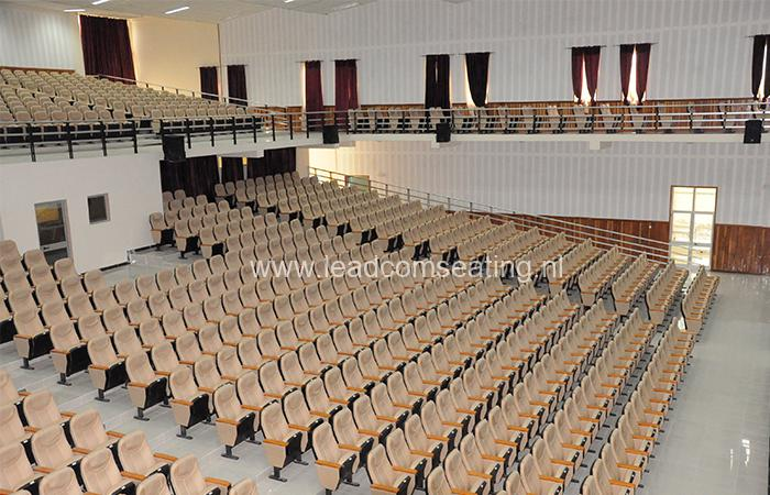 leadcom seating auditorium seating installation Hawassa City Administration Hall 1