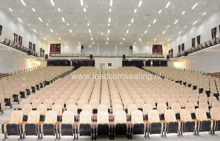 leadcom seating auditorium seating installation Hawassa City Administration Hall 2