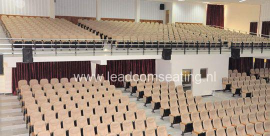 leadcom seating auditorium seating installation Hawassa City Administration Hall