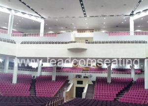 leadcom seating auditorium seating installation House on the Rock 1