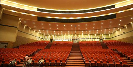 leadcom seating auditorium seating installation Magam Ruhunupura International Convention Centre 1