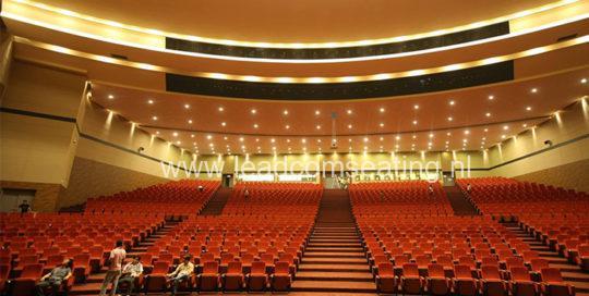 leadcom seating auditorium seating installation Magam Ruhunupura International Convention Centre 1