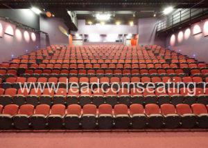 leadcom seating auditorium seating installation Middleton Grange School, NZ