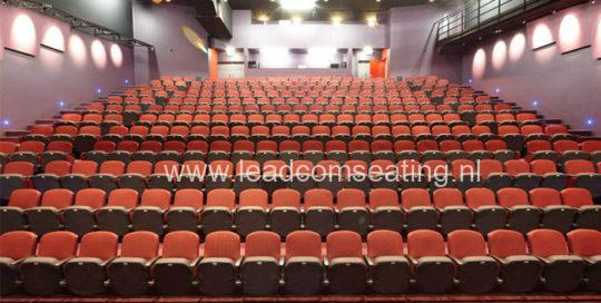 leadcom seating auditorium seating installation Middleton Grange School, NZ