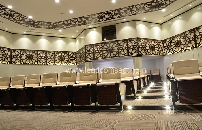 leadcom seating auditorium seating installation Military Industry Corporation 1