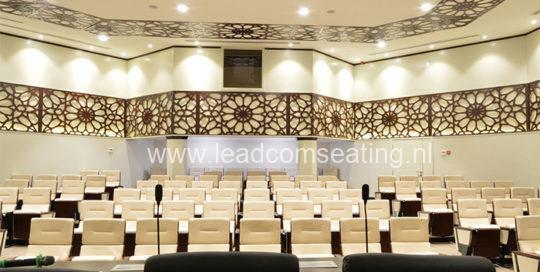 leadcom seating auditorium seating installation Military Industry Corporation