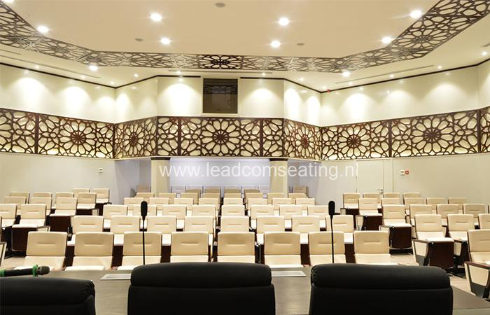 leadcom seating auditorium seating installation Military Industry Corporation