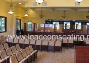 leadcom seating auditorium seating installation NJ Synagogue