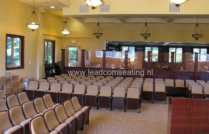 leadcom seating auditorium seating installation NJ Synagogue