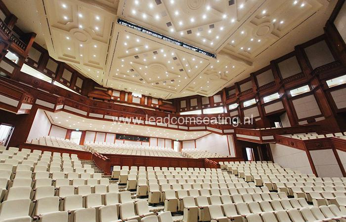 leadcom seating auditorium seating installation Prime Minister's Office Building 3