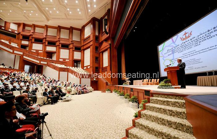 leadcom seating auditorium seating installation Prime Minister's Office Building 4