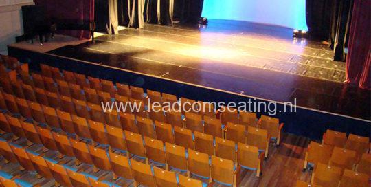 leadcom seating auditorium seating installation SALA AUDITORIO DEL SODRE 1