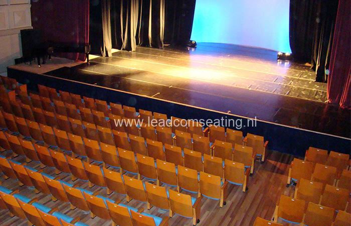leadcom seating auditorium seating installation SALA AUDITORIO DEL SODRE 1