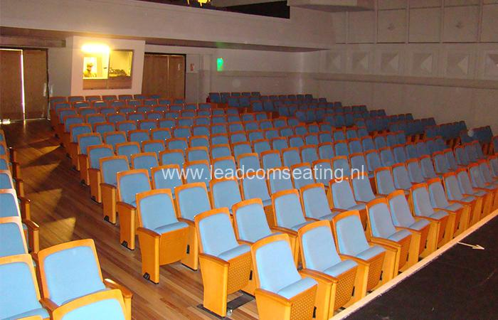 leadcom seating auditorium seating installation SALA AUDITORIO DEL SODRE