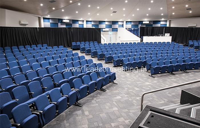 leadcom seating auditorium seating installation St Albans Baptist LS-6618 1