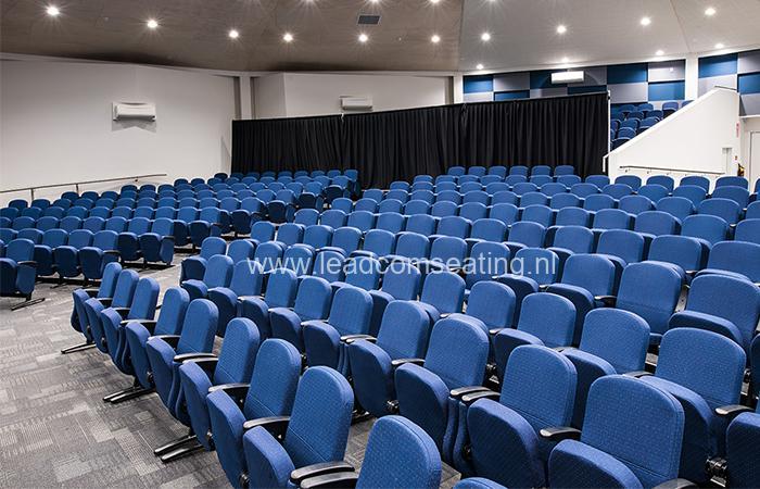 leadcom seating auditorium seating installation St Albans Baptist LS-6618 2