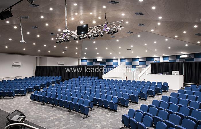 leadcom seating auditorium seating installation St Albans Baptist LS-6618