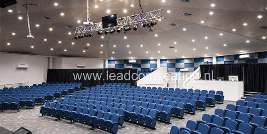 leadcom seating auditorium seating installation St Albans Baptist LS-6618