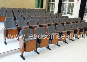 leadcom seating auditorium seating installation University of Hong Kong May Hall