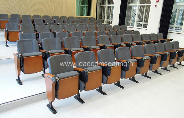 leadcom seating auditorium seating installation University of Hong Kong May Hall
