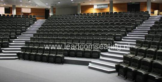 leadcom seating auditorium seating installation Walter Sisulu University SA 1