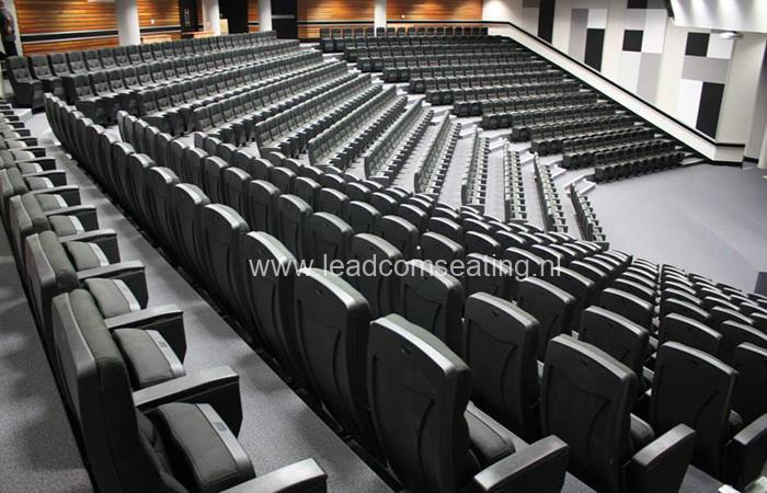 leadcom seating auditorium seating installation Walter Sisulu University SA