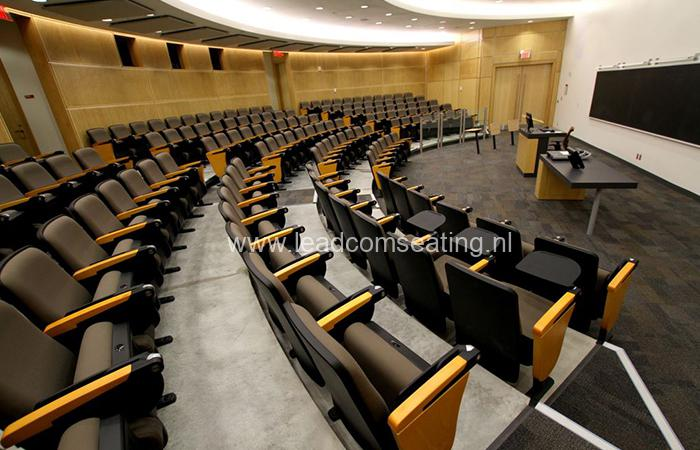 leadcom seating auditorium seating installation York University 1