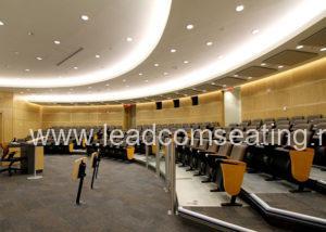 leadcom seating auditorium seating installation York University 2