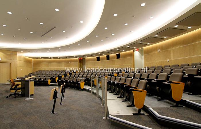leadcom seating auditorium seating installation York University 2