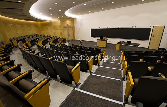 leadcom seating auditorium seating installation York University