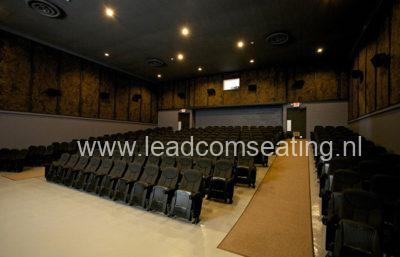 leadcom seating cinema seating installation PLEASANT VALLEY PLAZA