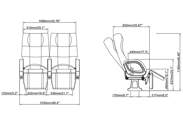 leadcom seating ck32h
